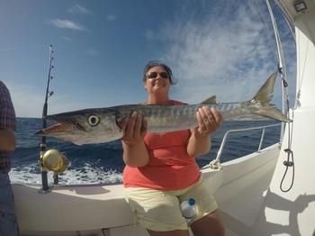 Barracuda caught by Nuna Raitanen Cavalier & Blue Marlin Sport Fishing Gran Canaria