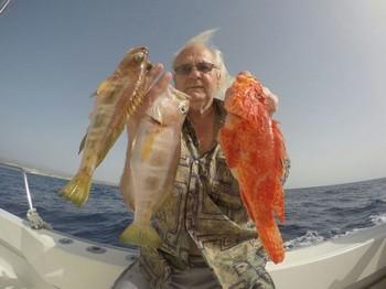 Well done - Hans Johansson from Sweden Cavalier & Blue Marlin Sport Fishing Gran Canaria