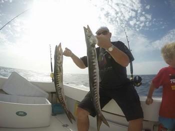 Barracuda,  well done Cavalier & Blue Marlin Sport Fishing Gran Canaria