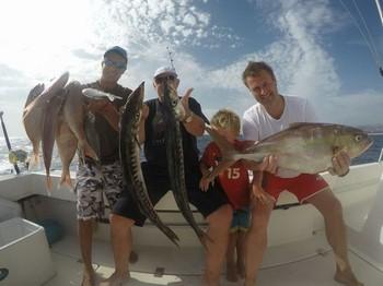 Great catch - Michael & Hermann Koch from Denmark Cavalier & Blue Marlin Sport Fishing Gran Canaria