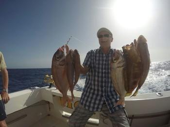 Nice catch onboard  of the boat Cavalier Cavalier & Blue Marlin Sport Fishing Gran Canaria