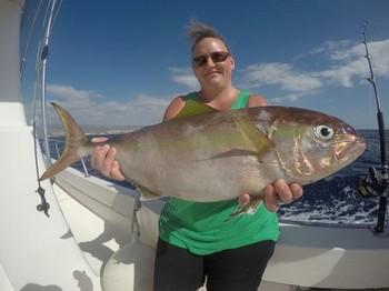 Amberjack - Tina Skyum from Denmark on the boat Cavalier Cavalier & Blue Marlin Sport Fishing Gran Canaria