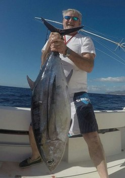 Albacore Tuna - Willy Vermeulen from Belgium Cavalier & Blue Marlin Sport Fishing Gran Canaria