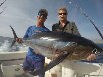 25 kg  Albacore Tuna - 25 kg Albacore Tuna caught by Arto Pistola from Finland Cavalier & Blue Marlin Sport Fishing Gran Canaria