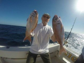 Red Snappers - Nice catch of Red Snappers Cavalier & Blue Marlin Sport Fishing Gran Canaria