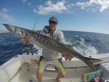Barracuda caught by Kaarlo Salkunen Cavalier & Blue Marlin Sport Fishing Gran Canaria