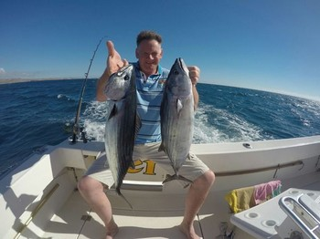Well done - Congratulations, well done ! Cavalier & Blue Marlin Sport Fishing Gran Canaria