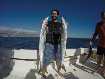 Barracuda - 2 Barracuda caught by Vincent Cavalier & Blue Marlin Sport Fishing Gran Canaria