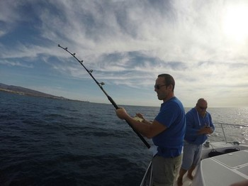 Hooked Up - Matthias from Germany Cavalier & Blue Marlin Sport Fishing Gran Canaria