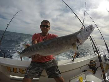 Barracuda for Mickey Gratz from Germany Cavalier & Blue Marlin Sport Fishing Gran Canaria