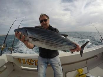 North Atlantic Bonito - Great catch for Tryove Nilsen Cavalier & Blue Marlin Sport Fishing Gran Canaria