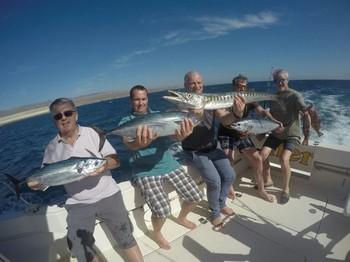 Congratulations - The winning team on the Cavalier Cavalier & Blue Marlin Sport Fishing Gran Canaria