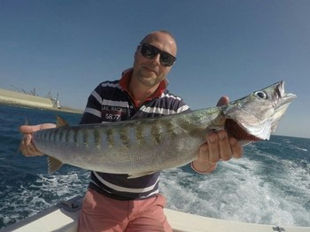Barracuda - Adam Eisner from Sweden Cavalier & Blue Marlin Sport Fishing Gran Canaria