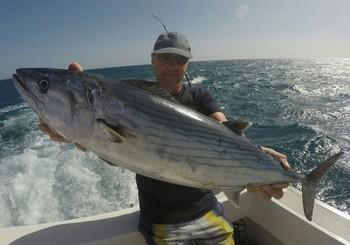 Congratulations - Kaarlo Salkunen from Norway caught today  this birthday present Cavalier & Blue Marlin Sport Fishing Gran Canaria