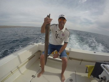 Moray Eel Cavalier & Blue Marlin Sport Fishing Gran Canaria
