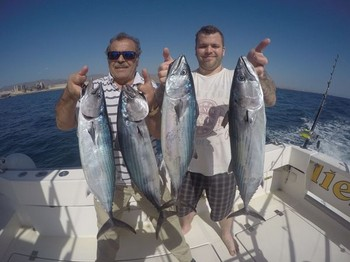 Atlantic Bonito - Robin and Sali Hasenof from Sweden Cavalier & Blue Marlin Sport Fishing Gran Canaria