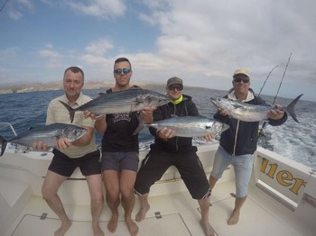 Well done guys Cavalier & Blue Marlin Sport Fishing Gran Canaria