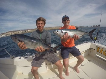 Well done - Thorstein Lunder & Erlend Blikra from Norway Cavalier & Blue Marlin Sport Fishing Gran Canaria