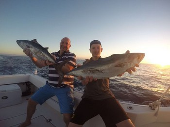 Well done - Arno & Hein Boestestijn from Holland Cavalier & Blue Marlin Sport Fishing Gran Canaria