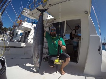 30 kg Wahoo Cavalier & Blue Marlin Sport Fishing Gran Canaria