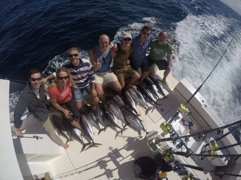 14 Albacores - Cavalier caught  14 Albacores Cavalier & Blue Marlin Sport Fishing Gran Canaria