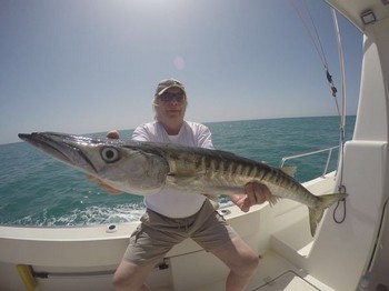 Barracuda - Egon Borowski from Germany Cavalier & Blue Marlin Sport Fishing Gran Canaria