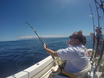 Michael Rausch from Germany Cavalier & Blue Marlin Sport Fishing Gran Canaria