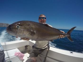 Garrick / Leerfish caught by Paul Downes from the United Kingdom Cavalier & Blue Marlin Sport Fishing Gran Canaria