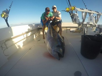 Big Eye Tuna - James Henslowe caught this 100 kg Big Eye Tuna on the boat Cavalier Cavalier & Blue Marlin Sport Fishing Gran Canaria