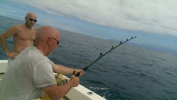 Hard working - Come on Cavalier & Blue Marlin Sport Fishing Gran Canaria