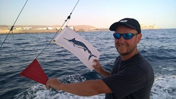 Congratulations Christopher Ward from Wales Cavalier & Blue Marlin Sport Fishing Gran Canaria