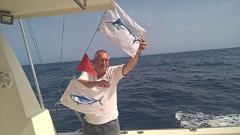 Klaas Westerhof - Congratulations, well done ! Cavalier & Blue Marlin Sport Fishing Gran Canaria