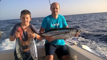 Congratulations Harley and Dylan Turner  from the United Kingdom Cavalier & Blue Marlin Sport Fishing Gran Canaria