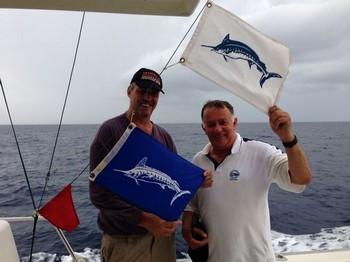 Congratulations Martin Walker and Howard Foster Cavalier & Blue Marlin Sport Fishing Gran Canaria