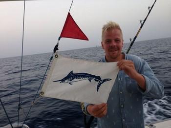 600 lbs Blue Marlin Cavalier & Blue Marlin Sport Fishing Gran Canaria