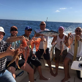 Nice Catch - Nice catch on the boat Cavalier Cavalier & Blue Marlin Sport Fishing Gran Canaria
