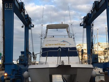 Cavalier few days in drydock for the yearly repairs Cavalier & Blue Marlin Sport Fishing Gran Canaria
