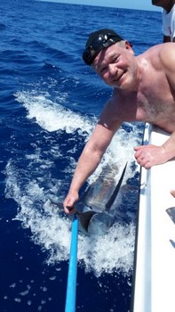 120 kg Blue Marlin Cavalier & Blue Marlin Sport Fishing Gran Canaria