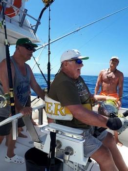 Bernard Volker - Hooked Up Cavalier & Blue Marlin Sport Fishing Gran Canaria