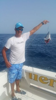 Shit happens Cavalier & Blue Marlin Sport Fishing Gran Canaria