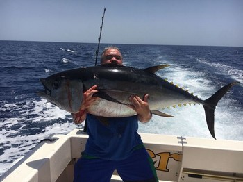 Big Eye Tuna - Well done Ivan Cavalier & Blue Marlin Sport Fishing Gran Canaria