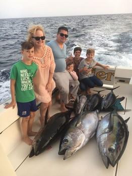 The happy family Cavalier & Blue Marlin Sport Fishing Gran Canaria