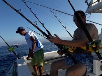 Yesssssssssssss - Hooked Up Cavalier & Blue Marlin Sport Fishing Gran Canaria