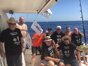 Congrats - Congratulations boat Cavalier Cavalier & Blue Marlin Sport Fishing Gran Canaria