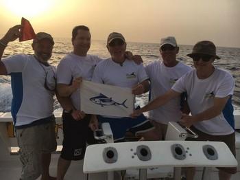The Winning Team on the Cavalier Cavalier & Blue Marlin Sport Fishing Gran Canaria