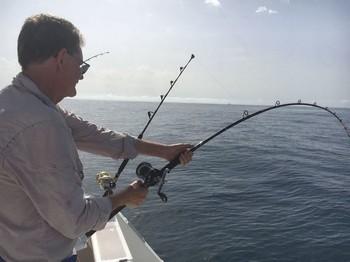 Well done - I's a hard job John Cavalier & Blue Marlin Sport Fishing Gran Canaria