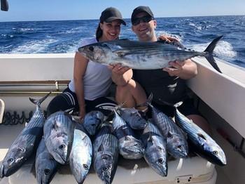 Congratulations , 14 North Atlantic Bonito Cavalier & Blue Marlin Sport Fishing Gran Canaria