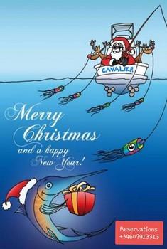 Happy Christmas Cavalier & Blue Marlin Sport Fishing Gran Canaria