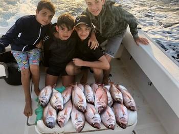 Röda snappers Cavalier & Blue Marlin Sport Fishing Gran Canaria