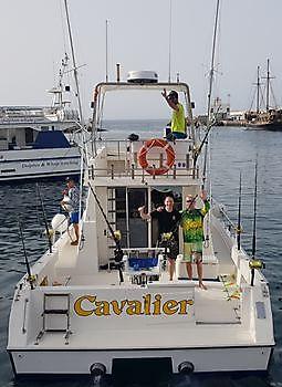 Jos van Loo & Eric Pos Cavalier & Blue Marlin Sport Fishing Gran Canaria